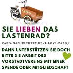Sie lieben das Lastenrad? Dann unterstützen sie doch bitte die Arbeit des Vorstadtvereins mit einer Spende oder Mitgliedschaft