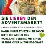 Sie lieben den Adventsmarkt? Dann unterstützen sie doch bitte die Arbeit des Vorstadtvereins mit einer Spende oder Mitgliedschaft